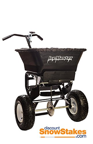 Ice Master 5000 - Walk Behind Salt Spreader by Ice Master