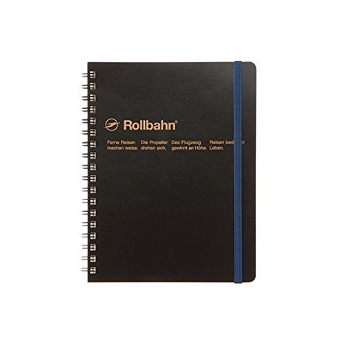 Roruban Memo Pad With The Pocket B6 Grid 70 Pages Blk