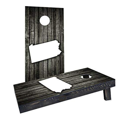 【おすすめ】 Custom Cornhole Boards Incorporated CCB831-2x4-C Wood Incorporated Wood Slat Pennsylvania Boards Theme Cornhole Boards [並行輸入品] B07HLJ7NMY, 庵治町:486c55e0 --- arianechie.dominiotemporario.com