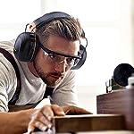 Tacklife Casque Anti-bruit Pliable Enfant Adulte, SNR 34dB/Protection Auditive/Certification CE/Confortable/Idéal pour… 12