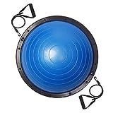 8e1eb3ebef AMPERSAND SHOPS Balance Trainer Half Ball Yoga Fitness Exercise Workout Blue