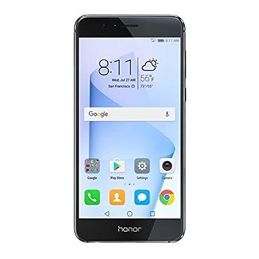 Huawei Honor 8 Unlocked Smartphone 32 GB Dual Camera US Warranty (Midnight Black)