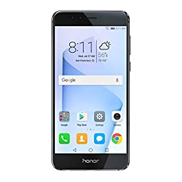Huawei Honor 8 Unlocked Smartphone 32 GB Dual Camera – US Warranty (Midnight Black)