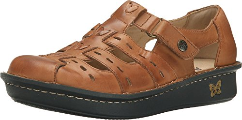 Alegria Women's Pesca Cognac Leather 37 W EU