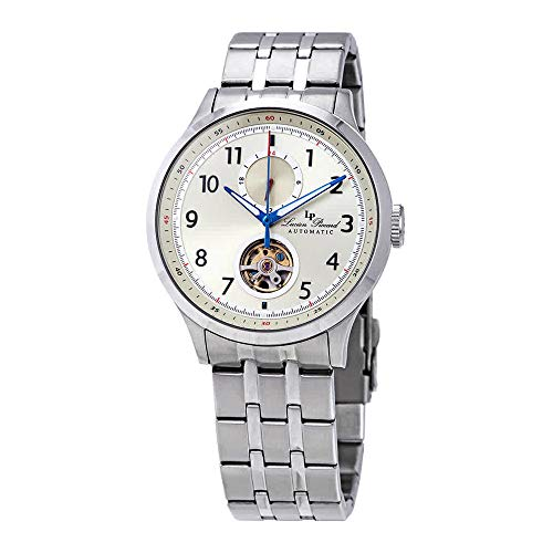 Lucien Piccard Open Heart GMT II Automatic Champagne Dial Men's Watch LP-28010A-20