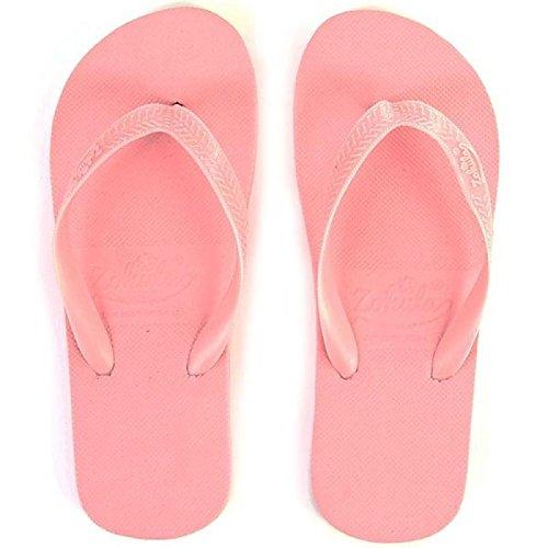 Zohula  Baby Pink Flip-flops, Damen Zehentrenner rosa babyrosa 35 1/3 EU