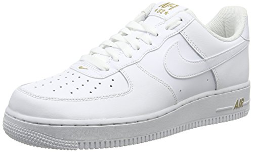 Force White Metallic Uomo Ginnastica '07 White da 102 1 Scarpe Air Gold Nero NIKE 5wBqPFzf5
