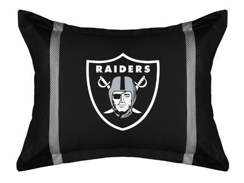 Oakland Raiders Locker Room Pillow Sham