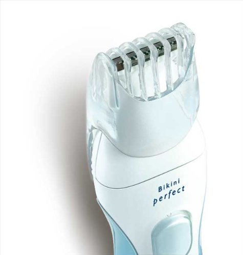 Philips Hp6378/10 Bikini Perfect Deluxe Trimmer, Opal / Aqua