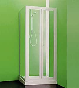 Box ducha angular, cm.90 – 97, con puerta fija CC, cm.72 – 75 ...