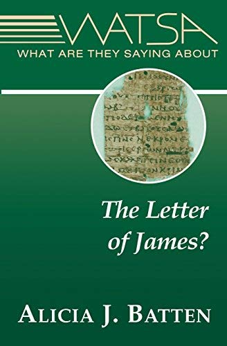Download What Are They Saying About the Letter of James? pdf epub