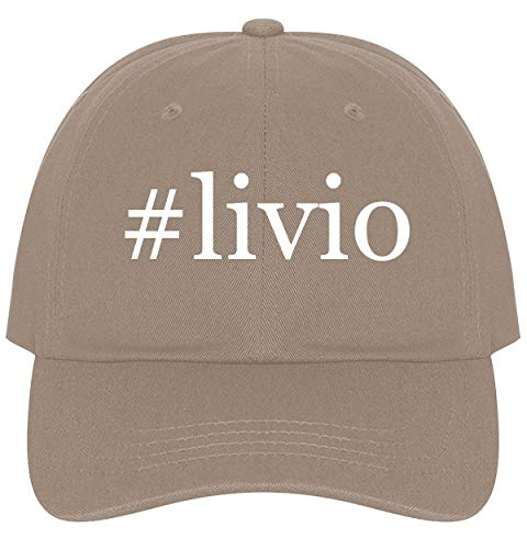 (The Town Butler #Livio - A Nice Comfortable Adjustable Hashtag Dad Hat Cap, Khaki)