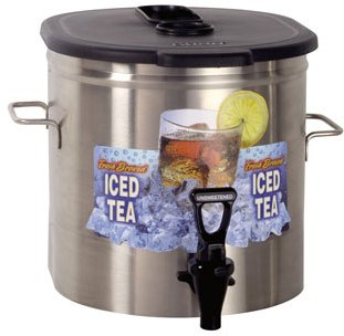 Bunn TDO-3.5 Oval Iced Tea Dispenser -TDO-3.5-0000 - Oval Iced Tea Dispenser