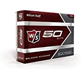 Wilson Staff  Fifty Elite Golf Balls,  Pack of 12