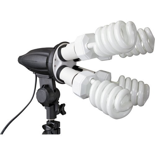 Impact 4 Socket Fluorescent Fixture