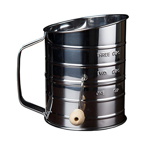 Kitchen Winners Crank Stainless Sifter product image