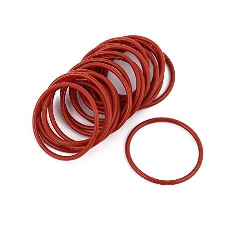 Aceite DealMux 20Pcs Red 23 mm x 1, 5 mm Resistencia al calor no tó xico Resistente NBR Caucho de nitrilo O Ring anillo de obturació n 5 mm Resistencia al calor no tóxico Resistente NBR Caucho de nitrilo O Ring anillo de obturación