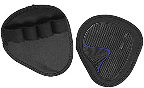 FREE DELIVERY Weight Lifting Gym Grips Pads Hand Training Bar Straps Wrap Gloves