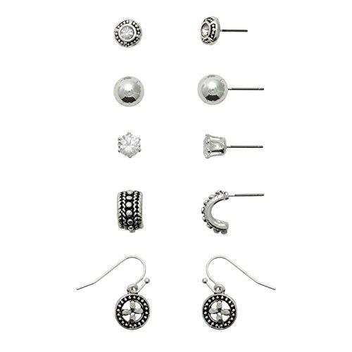 r Bali Style Earring Set for Sensitive Ears (Bali Style Star)