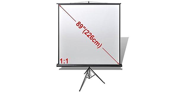 Tidyard - Pantalla de proyección para proyectores (trípode, 160 x ...