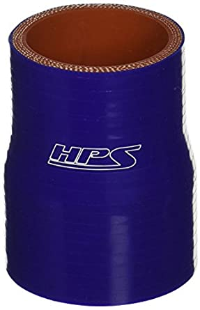 80 PSI Maximum Pressure 3 Length 2  2-3//4 ID HPS HTSR-200-275-BLUE Silicone High Temperature 4-ply Reinforced Reducer Coupler Hose Blue