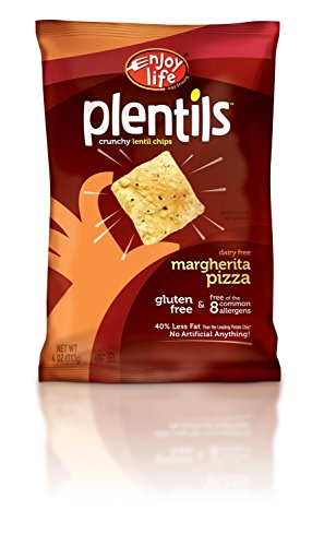 Enjoy Life Plentils, Margherita Pizza, 4-Ounce (Pack of 2)