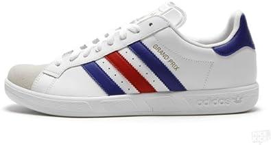 adidas Grand Prix (White/Red/Blue