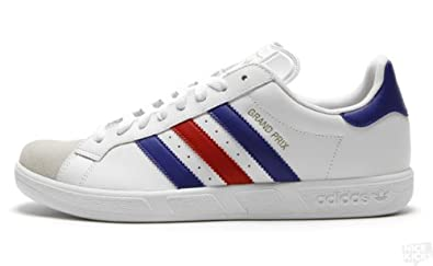 2c61ab016ad57 Amazon.com  adidas Grand Prix (White Red Blue Gold) (10)  Shoes