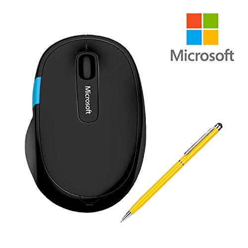 Microsoft Sculpt Wireless Comfort Mouse H3S for Computers Laptops Fast Scrolling Bundle (1-Pack + ()