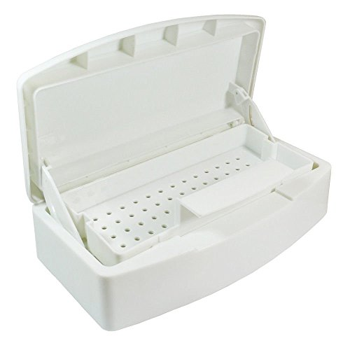VinewS Nail Sterilization Box Alcohol Plastic Disinfection Nail Tray Easy Cleaner Sterilizator For Cutter Manicure Tools Set
