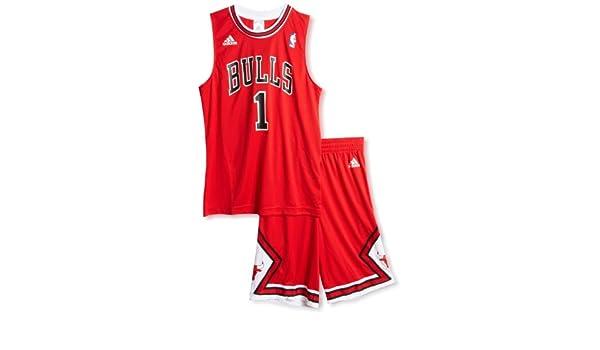 Adidas Chaquetas deportivas Chicago Bulls Minikit Red 16a Junior: Amazon.es: Ropa y accesorios