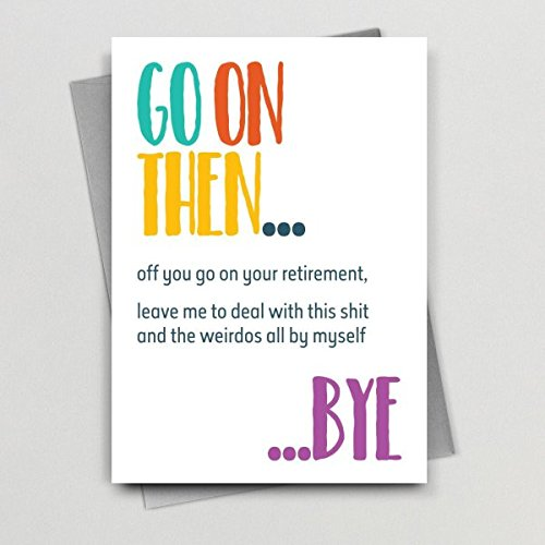 Retirement Card from Silly Prints 57cd77cce4b08ab8c8515cdc