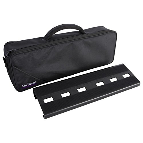 Pedal Board Gig Bag - On-Stage GPB2000 Compact Pedal Board with Gig Bag