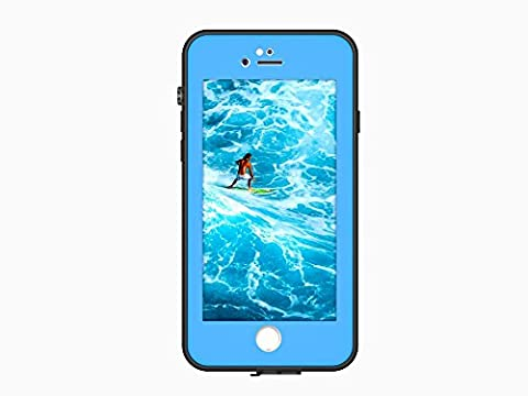Waterproof case for iphone 7 plus, Iphone 7 plus case, Bolkin hybrid armor Series heavy duty Shockproof Dirt-proof Protective cover Snow-proof Underwater IP68 Waterproof Case for iPhone 7 Plus (Blue Waterproof Iphone Case)
