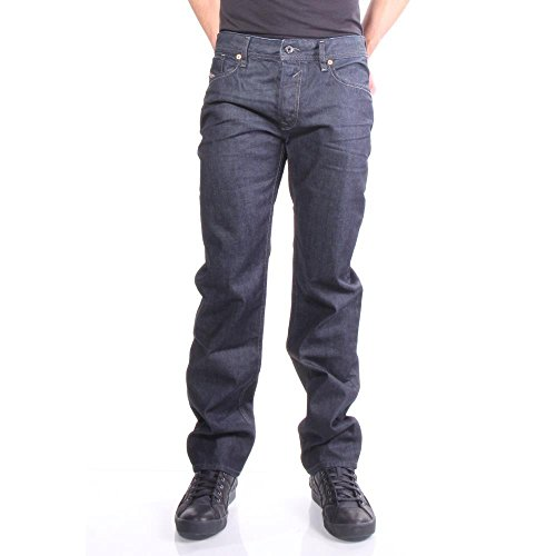 Diesel Black Jeans - Diesel Men's Waykee Regular Straight-Leg Jean 00Z88, Denim, 28x30