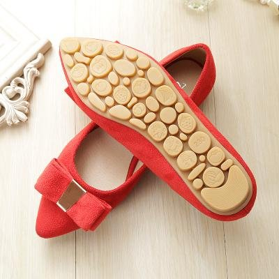 &huo Zapatos rojos nupciales, plano con los zapatos de la boda, zapatos del ladle zapatos del ante del lado del arco 37