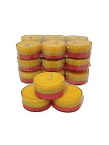 Soy Wax Stress Relief Green Tea Light 20 Pack