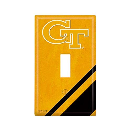 Georgia Tech Single Toggle Light Switch Cover NCAA
