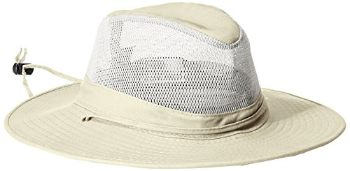 [Solarweave SPF 50+ Safari Hat by Dorfman Pacific (Oatmeal X-Large)] (Straw Safari Hat)