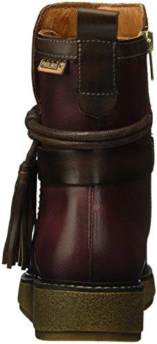 Pikolinos Barcelona W2h_i16, Zapatillas de Estar por Casa para Mujer Rojo - Rot (GARNET)