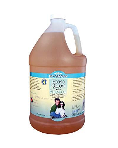 Bio-Groom Econo-Groom Dog and Cat Shampoo, 1-Gallon, Packaging May Vary