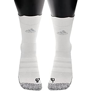 adidas Alphaskin Traxion Lightweight Cushioned Crew Socks (1 Pack)