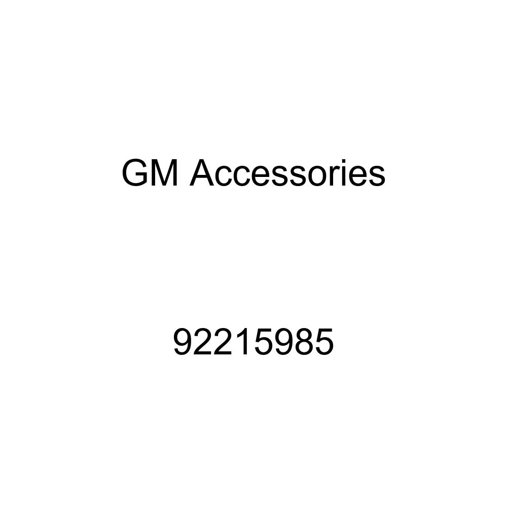 GM Accessories 92215985 Passenger Side Body Stripe Decal in White General Motors
