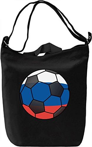 Russia Football Borsa Giornaliera Canvas Canvas Day Bag  100% Premium Cotton Canvas  DTG Printing 