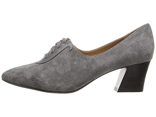J.Renee Womens Ellam Suede Pointed Toe Classic Pumps, Dk Gray, Size 10.5
