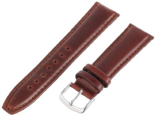 Hadley-Roma Men's MSM881RAC-200 20-mm Honey Oil-Tan Leather Watch Strap