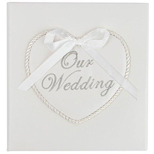 Trenton Gifts Embroided Wedding CD/DVD Keepsake Box