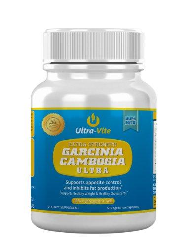 Garcinia cambogia extrait - Extra Strength Garcinia cambogia Ultra avec 60% HCA - Charges Liants zéro, zéro, zéro ingrédients artificiels - Éprouvé en clinique