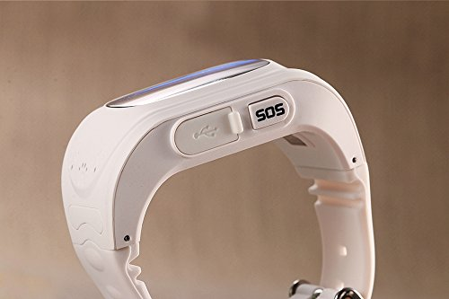 Lemfo Q50 inteligente reloj GPS reloj inteligente teléfono anti perdido SOS Llamada buscador de los niños pulsera de fitness Tracker reloj de pulsera para ...