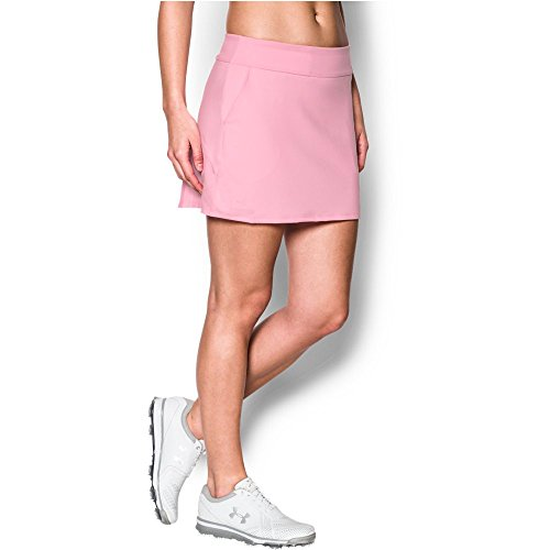 Under Armour Womens Links Knit Skort, Pink (650)/Pink, XX-Large